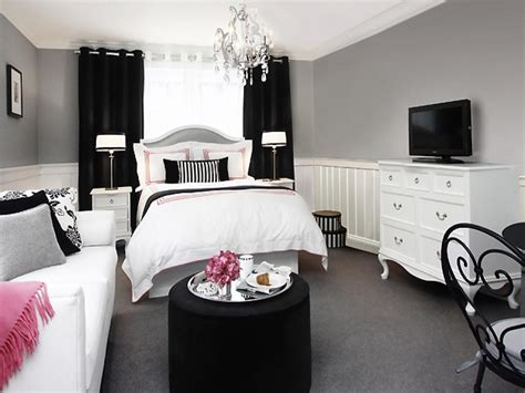 black pink and white bedroom double duty design ideas hgtv 18350 | 1405422181365