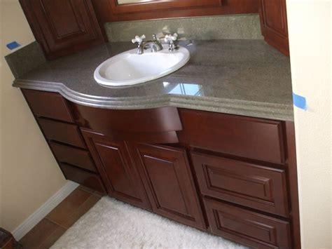 Bathroom Bathroom Vanity Cabinets With Granite Countertop
