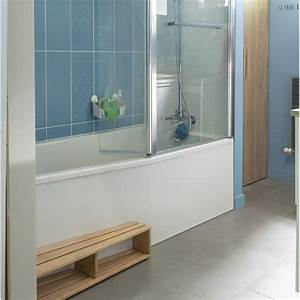 baignoire l160x l85 cm jacob delafon sofa bain et With porte de douche coulissante avec baignoire petite salle de bain