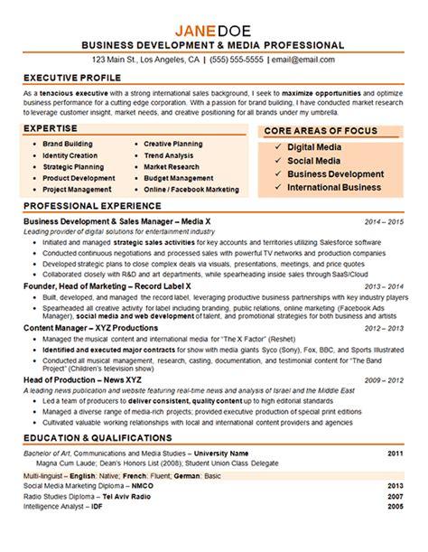 digital marketing resume exles marketing resume