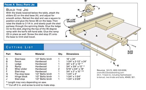 handy table  jigs popular woodworking magazine