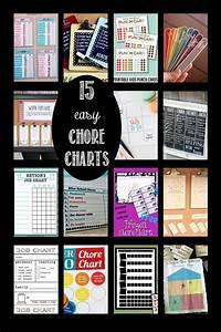 15 Easy Chore Charts