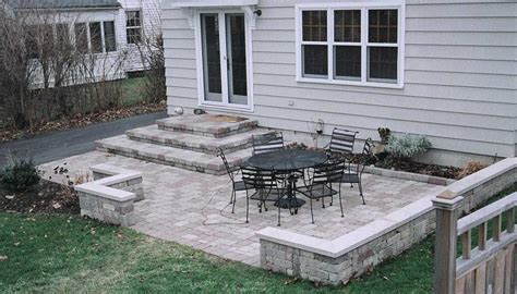Simple Backyard Patio by Decks And Patios Designs Garden Design