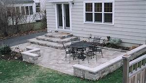 Download stone decks and patios designs garden design for Deck and patio ideas for small backyards