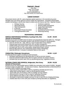 career summary exles for sales director of procurement resume sales director lewesmr