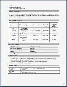 resume templates With resume format software free download