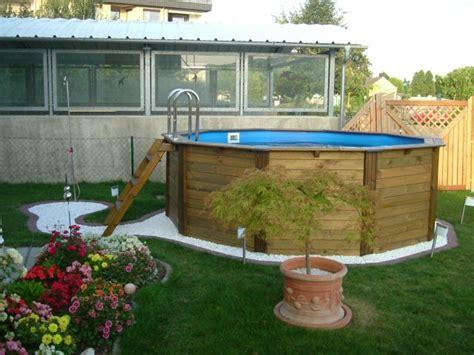 mi bois cuisine piscine hors sol bois idées et conseils pour votre jardin