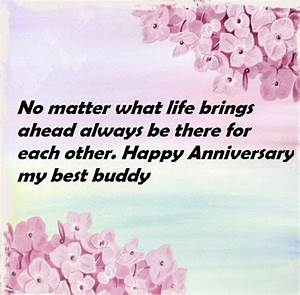 wedding anniversary wishes quotes to friend best wishes With best wishes for first wedding anniversary