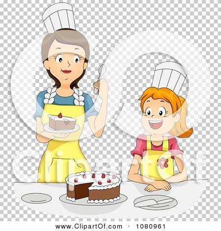 Clipart Home Economics Teacher Tasting A Girls Cake ...