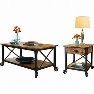 17 best ideas about rustic coffee table sets on pinterest With industrial coffee table set