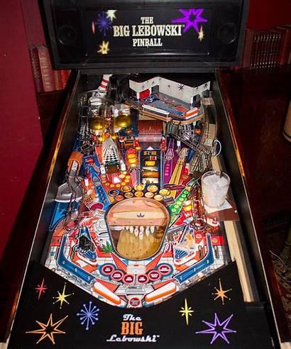 Pinball Lebowski Machine Prototype Zombie Playfield Dutch