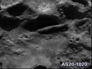 AN ANCIENT ALIEN SPACECRAFT ON THE BACKSIDE OF THE MOON