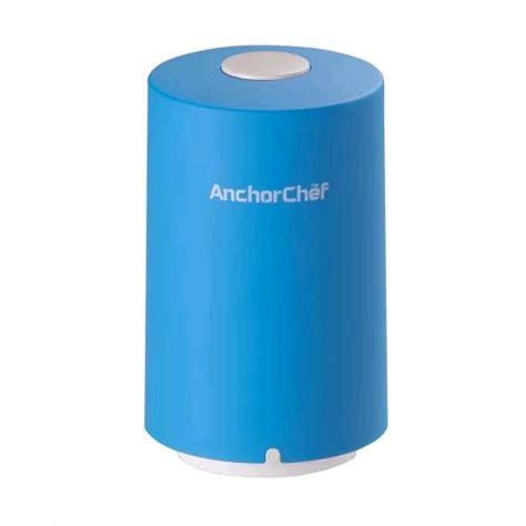 anchorchef mini vacuum valve sealer mj zk blue