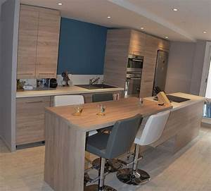 Agencement De Boysere : am nagement cuisine et salon style nordique la seyne sur mer ~ Premium-room.com Idées de Décoration