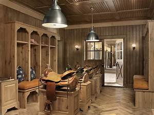Tack Room Ideas - Country - Laundry Room - Ryan Street and