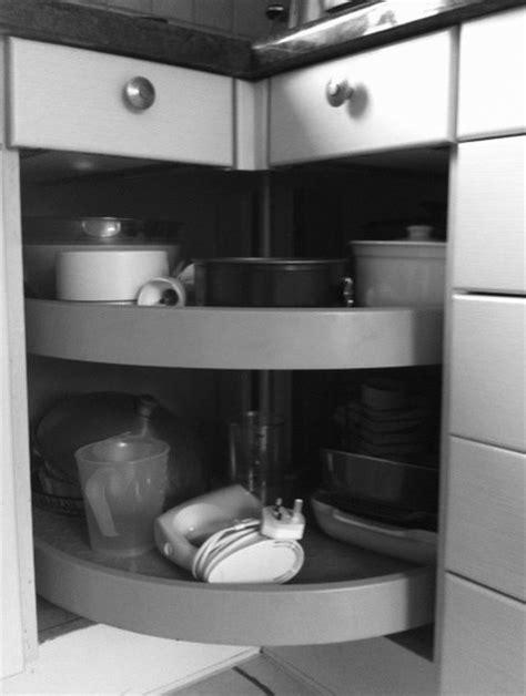 kitchen cabinet carousel corner kitchen storage solutions 5175