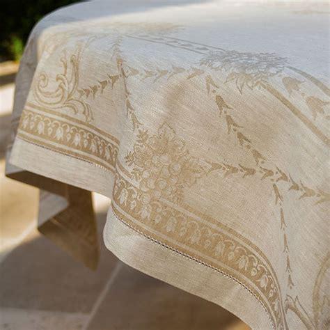 french melodie tablecloth jan de luz linens