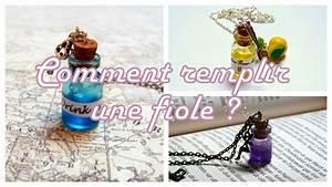 Petite Fiole En Verre : tutoriel comment remplir une fiole la fiole drink me d ~ Teatrodelosmanantiales.com Idées de Décoration