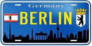 Ebay Deutschland Berlin : berlin germany aluminum novelty car tag license plate ebay ~ Heinz-duthel.com Haus und Dekorationen