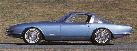 1963 Chevrolet Rondine (Pininfarina) - Studios