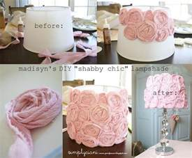 Clay Lamp Shade by Diy Shabby Chic Lamp Makeover Pictures Photos And Images
