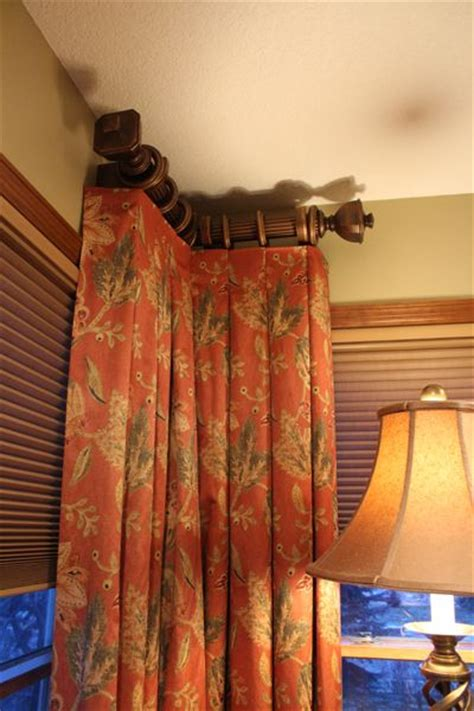 curtain rods for side panels 933 best drapery curtains toppers images on