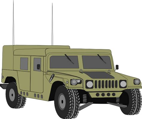 military hummer drawing hummer clip art at clker com vector clip art online