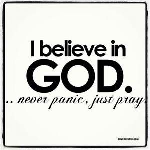 I Believe In God Pictures, Photos, and Images for Facebook
