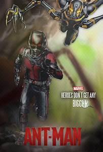Ant-Man Poster by diogosnog on DeviantArt