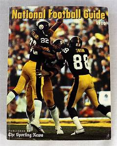 The Sporting News 1980 Nfl National Football League Guide