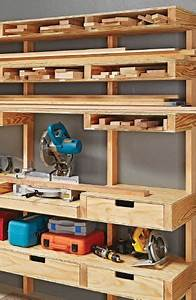 Awesome Timber Storage Solutions - Table Saw Central