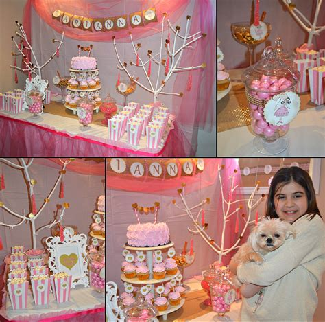party tales birthday party pink and gold valentine s