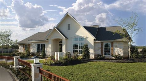 The Magnolia Model Home Located At Tilson's Katy Model