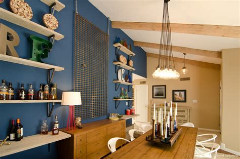 vintage family friendly dining room