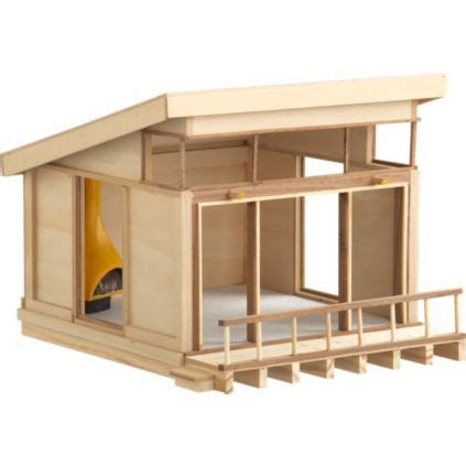 modernist mini doll house    idea  building
