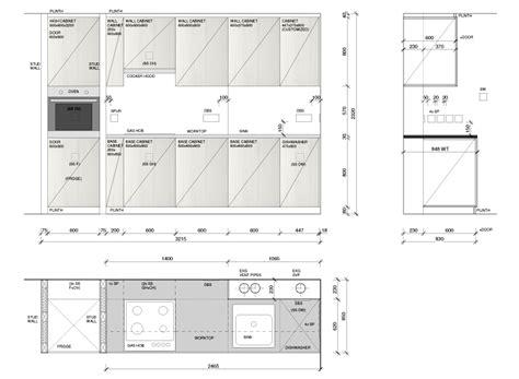 kitchen layout design 187 nsf detailed interior design 2130