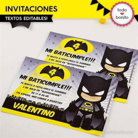 invitacion digital batman 35 00 en mercado libre