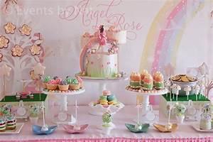 Theme Anniversaire Fille : anniversaire fille theme fee ~ Melissatoandfro.com Idées de Décoration