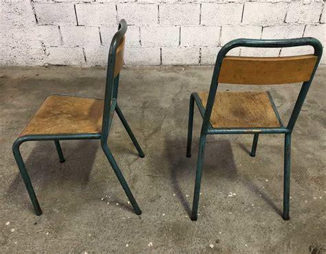 chaise d ecole ensemble de 44 chaises d 39 école stella vintage