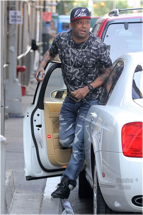 rapper maino  spotted    girlfriend  nyc