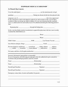 Free Printable Child Guardianship Forms Inspirational