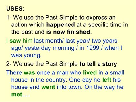Past Tenses1bach