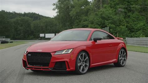 audi tt rs  sec   mph  hp youtube