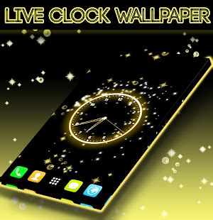live clock wallpaper android apps on play