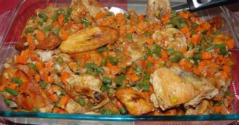 recette de cuisine africaine poulet dg directeur général recette en vidéo recette