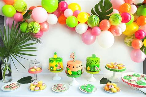 girls summer party themes pretty  party