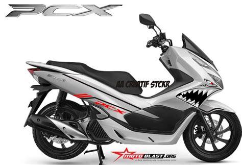 Pcx 2018 Stiker by Jual Cutting Sticker Shark Pcx 2018 Di Lapak Aa Creatif