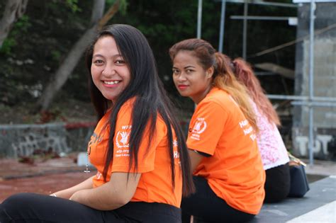 'i Say No To Violence Against Women And Girls Wfp Timor