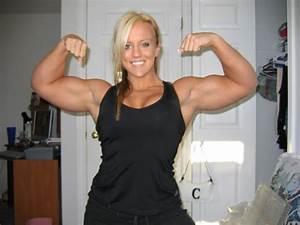 Muscular Females  Huge Biceps