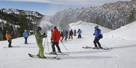 salt lake city lures tourists  urban ski experience